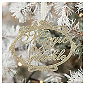 Magic and Sparkle Sign Christmas Tree Decoration