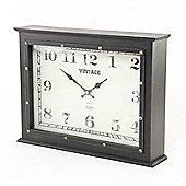 Black Vintage Clock