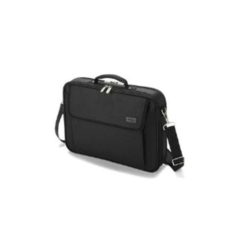Dicota Base Pro Notebook Bag with Zippered Document Compartment (Black) for 16 inch to 17.3 inch Notebooks
