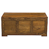 Elements Cubex Bedroom Blanket Box in Warm Lacquer
