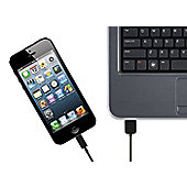 Kit Apple Approved Data And Charge Cable with Lightning Connector for iPad - Black