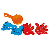Gowi Toys 558-56 Sandmould (Hands and Feet)