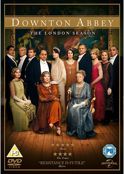 Downton Abbey - The London Season 2013 DVD (Christmas Special)