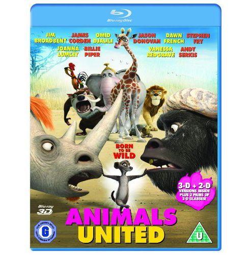Animals United 3D Bluray