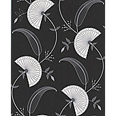 Superfresco Easy Precious Wallpaper - Black