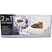 Rosewood Pet Products Luxury 2 In 1 Cat Bed