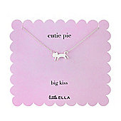 Children's Little Ella Cutie Pie Cat Pendant