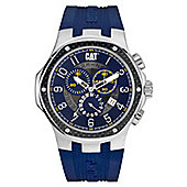 CAT Mens Silicone Chronograph Date Watch A5.143.26.616