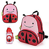 Skip Hop Zoo Backpack & Lunch Bag & Drinks Bottle - Ladybug