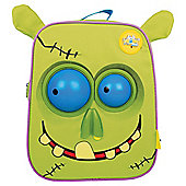 Wow Packs Electronic Kids' Backpack, Green Snot The Zombie