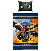 Learn to Train Your Dragon Duvet Set, Single