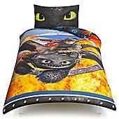 How to Train Your Dragon Single Duvet Set