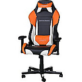DXRacer Drifting Series Gaming Chair Black / White / Orange OH/DF61/NWO