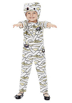 F&F Mummy Dress-Up Costume 3-4 yrs Multi