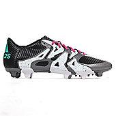 adidas X 15.3 FG Firm Ground Mens Football Soccer Boot Black - Black