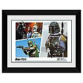 Star Wars Montage Framed Print, 30x40cm