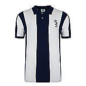 West Brom 1978 Home Shirt - Navy & White