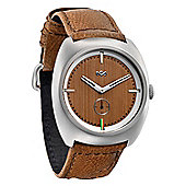 House Of Marley Gents Transport Leather Watch WM-FA001-SD