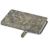 VICTOR Marron Marble Cheese Board in Natural