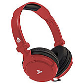 4GAMERS LICENSED PRO4-10 HEADSET - RED PS4