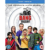 The Big Bang Theory Season 9 Blu-ray