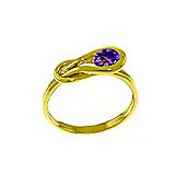QP Jewellers 0.65ct Amethyst San Francisco Ring in 14K Gold