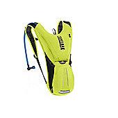2014 Camelbak 2.0 L Rogue Hydration Pack Lemon Green