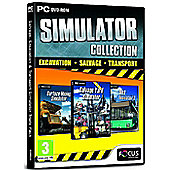 Salvage, Excavation & Bus Simulator Collection Triple Pack 1