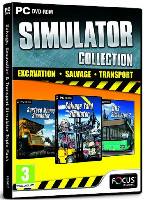 Salvage, Excavation & Bus Simulator Collection Triple Pack (PC)