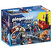 Playmobil 5365 City Action Firefighter with Pump