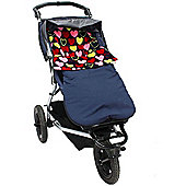 Buggy Snuggle Explorer Waterproof Buggysnuggles (Paris Hearts Fur)