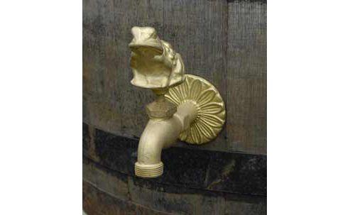 Brass tap - frog