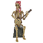 HALLOWEEN ANIMATED BANJO PLAYER