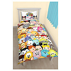 Tsum Tsum Huddle Single Duvet Cover and Pillowcase Set