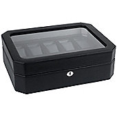 Wolf Designs Watch Box with Cover - 10.1 cm H x 24.7 cm W x 31.7 cm D