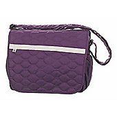 OBaby ZeZu Quilted Changing Bag (Purple)