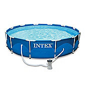 "Intex Metal Frame Pool 12ft x 30"" - 28212"