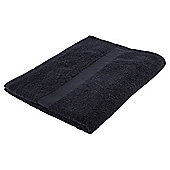 Tesco Basics Bath Towel Black