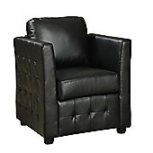 Furniture Link Bari Club Chair - Black