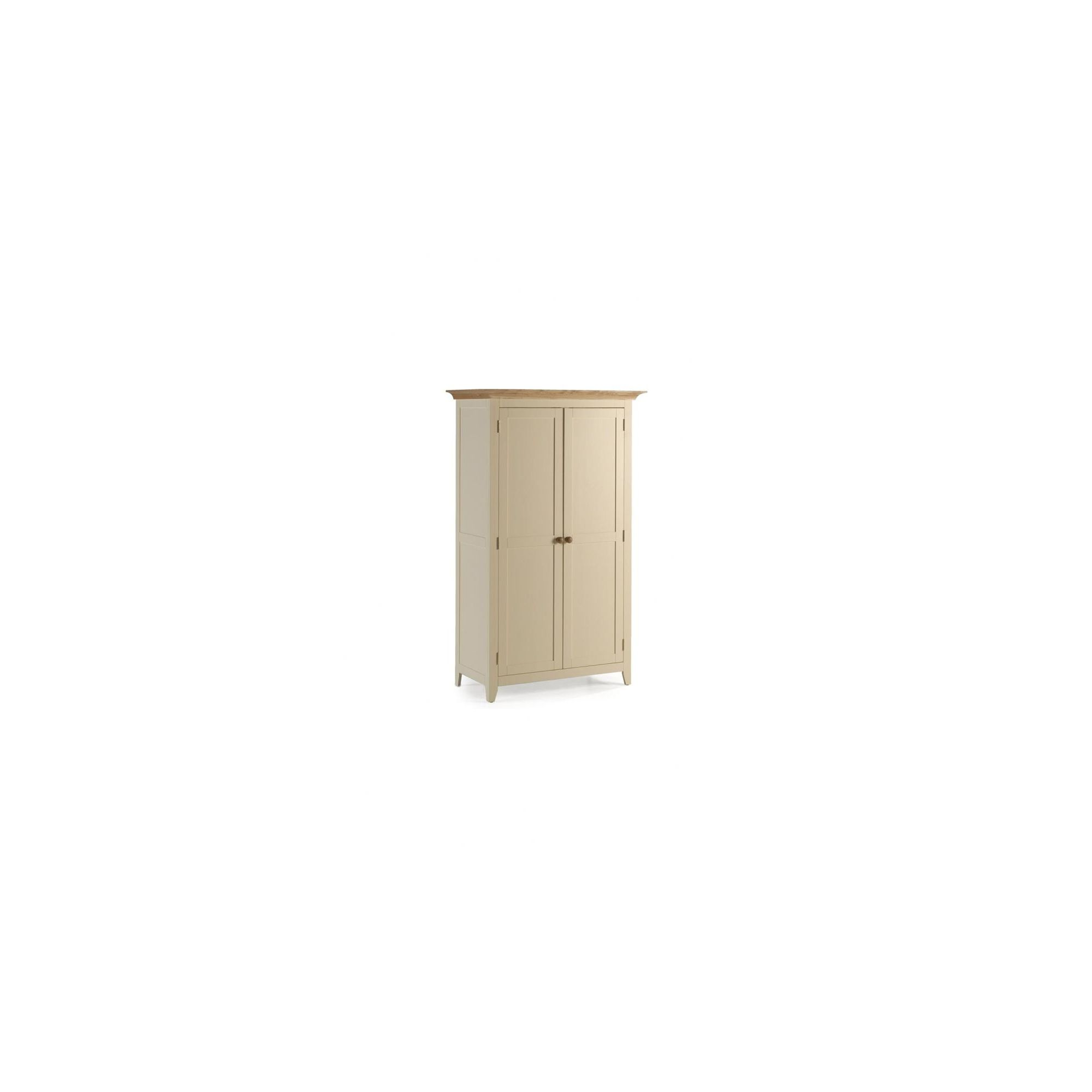 Ametis Camden Painted Pine and Ash Full Hanging Wardrobe in Painted Ivory at Tesco Direct