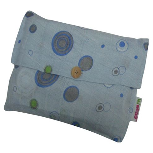 Minene Supersize Muslin Blue Circle