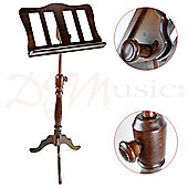 Baroque Style Walnut Music Stand