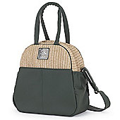 Bebecar Prive Luxury Changing Bag (Green Weave)