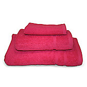 Fuschia 3 Piece 450gsm Turkish Towel Bale