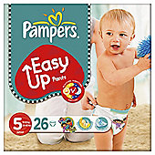 Pampers Easy Ups Size 5 Essential Pack - 26 nappies