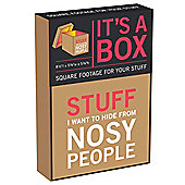 Knock Knock Nosey People Box