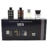Burberry Men miniature collection 4 pc