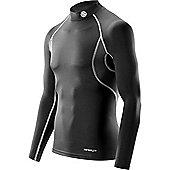 Skins Carbonyte Thermal Long Sleeve Mock Top - Black
