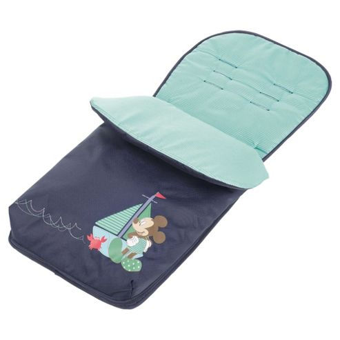 Obaby Footmuff Mickey Navy