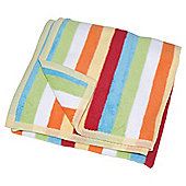 Toddler Blanket Multi Stripe 100x150cm